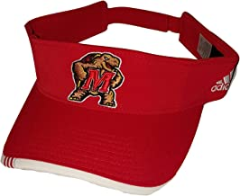 adidas University of Maryland Terps Velcro Strap Visor - OSFA