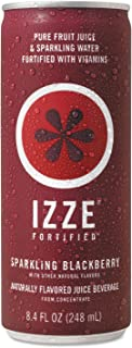 IZZEiuml;iquest;frac12; quot;Fortified Sparkling Juice, BlackBerry, 8.4 oz Can, 24/Cartonquot; Unit of Measure: CT, Manufacturer Part Number: 8.36093E+11