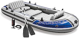 Intex Excursion 5 Inflatable Raft Set - 68325, Gray