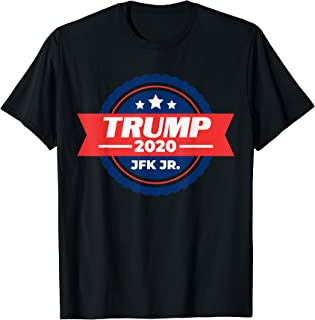 Emblem Trump 2020 JFK Jr. USA T-Shirt
