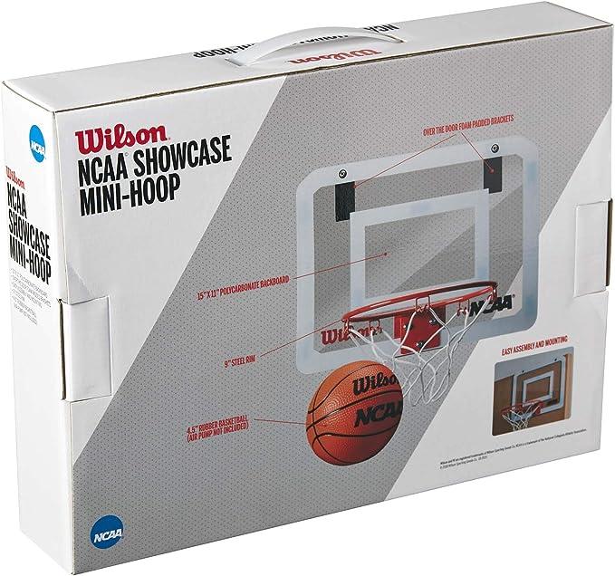 Wilson Fanatic Mini Basketball und Korb WTBA00436 NEU schwarz//blau