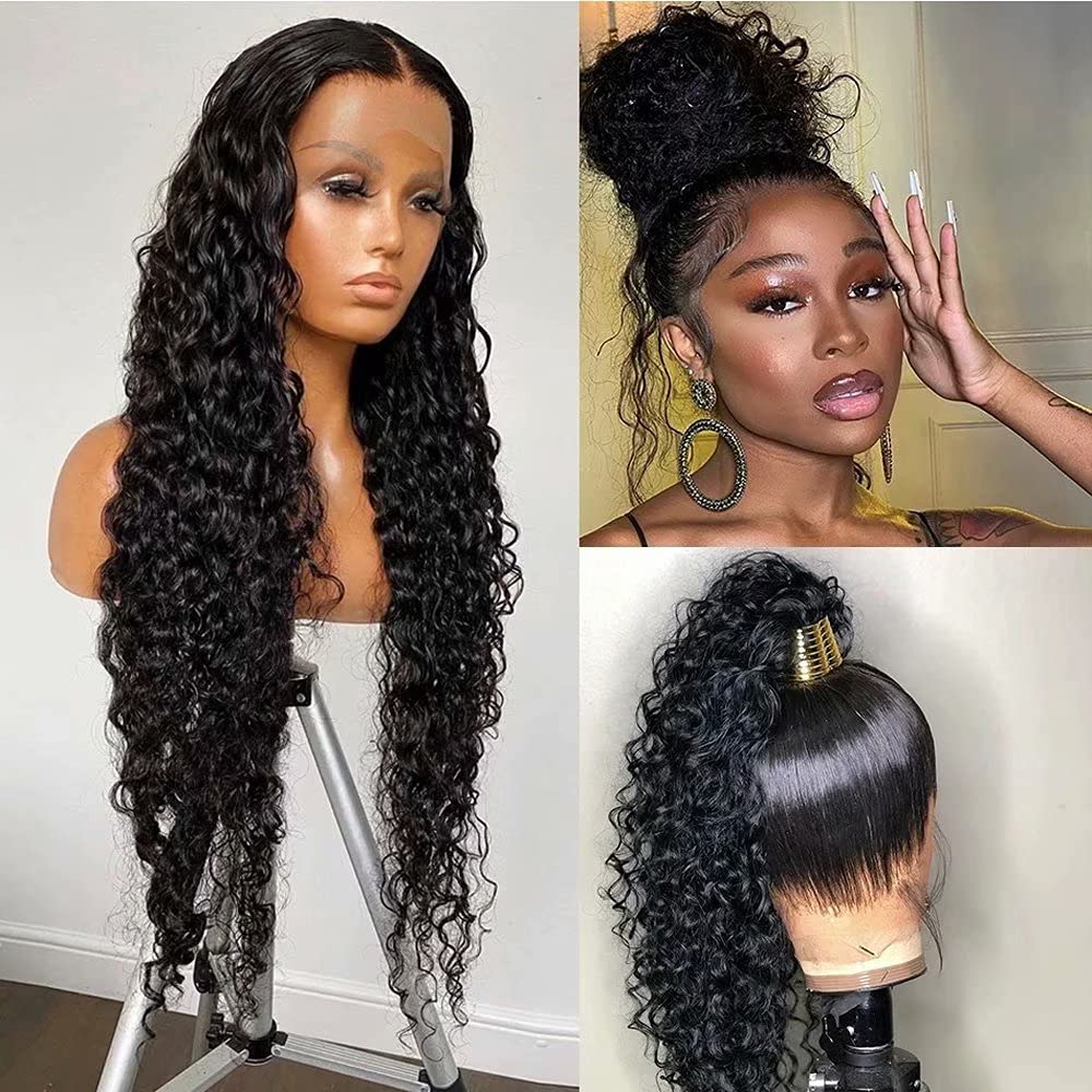 360 Lace Frontal Wig Phoenix Mall Challenge the lowest price Water Fro HD Wave Deep Transparent