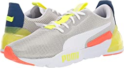 Puma White/Galaxy Blue/Yellow Alert