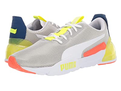 PUMA Cell Phase (Puma White/Galaxy Blue/Yellow Alert) Men