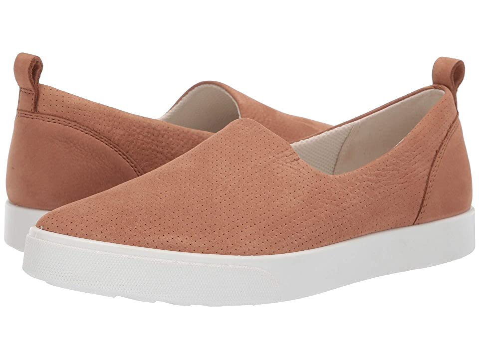 ECCO Gillian Casual Slip-On (Cashmere Nubuck) Women