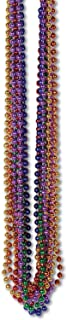 Beistle 50570KASST Bulk 720-Pack Small Round Party Beads, 7mm by 33-Inch, Assorted