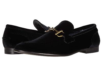 Steve Madden Delrayy Dress Loafer (Black Velvet) Men