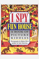 I Spy Fun House: A Book of Picture Riddles Hardcover