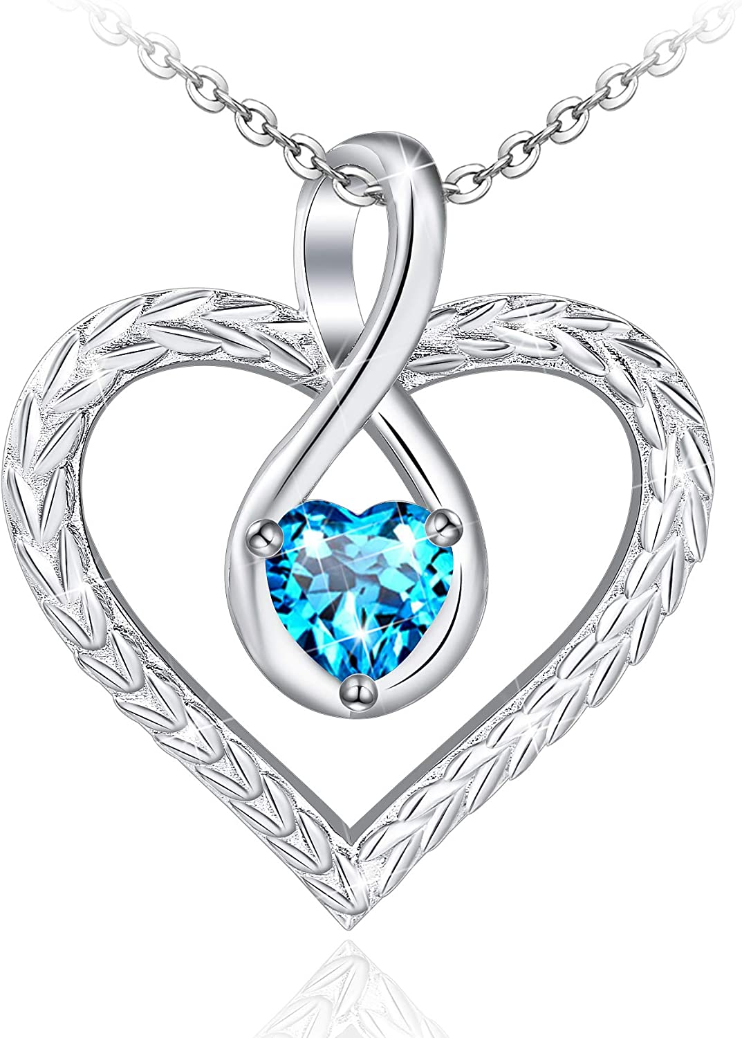 Allurelady Infinity Heart for Necklace NEW before selling Women Super special price