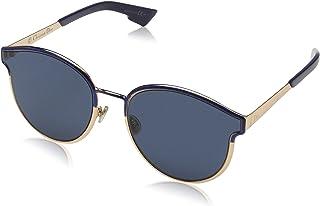 938e00adec00 Christian Dior Symmetric blue marble rose gold/blue Sunglasses
