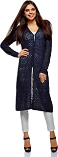 Ultra Women's Crocheted Button-Down Cardigan