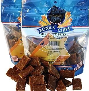 KONA'S CHIPS Mini Duck Bites Dog Treats