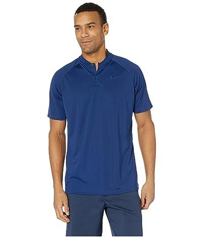 Nike Golf MM Team Polo (Blue Void/Blue Void) Men