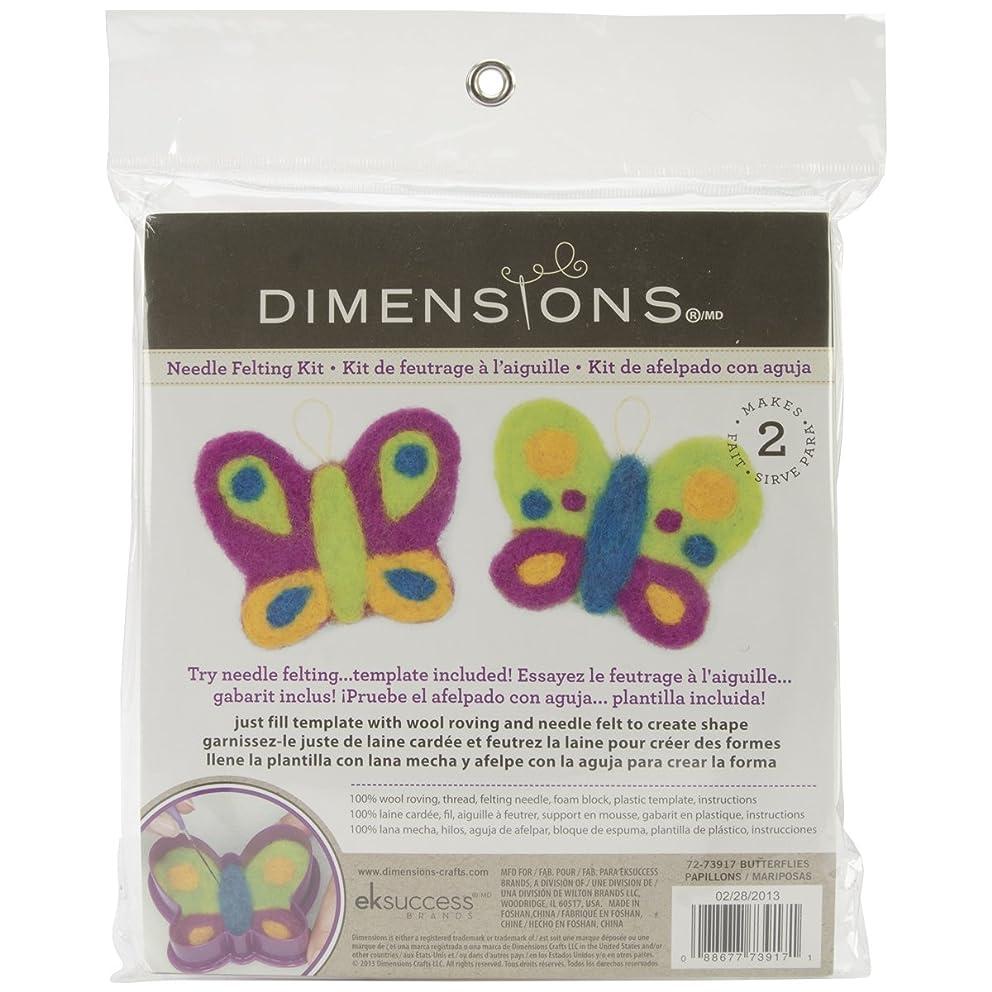 Dimensions Needlecrafts Try Needle Felting Butterflies Kit