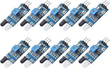 Sponsored Ad - DEVMO 10 pcs IR Infrared Obstacle Avoidance Sensor IR Transmitting and Receiving Tube Photoelectric Switch ...
