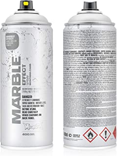 Montana Cans MXE-M9100 Montana Effect 400 ml Marble Color, White Spray Paint,
