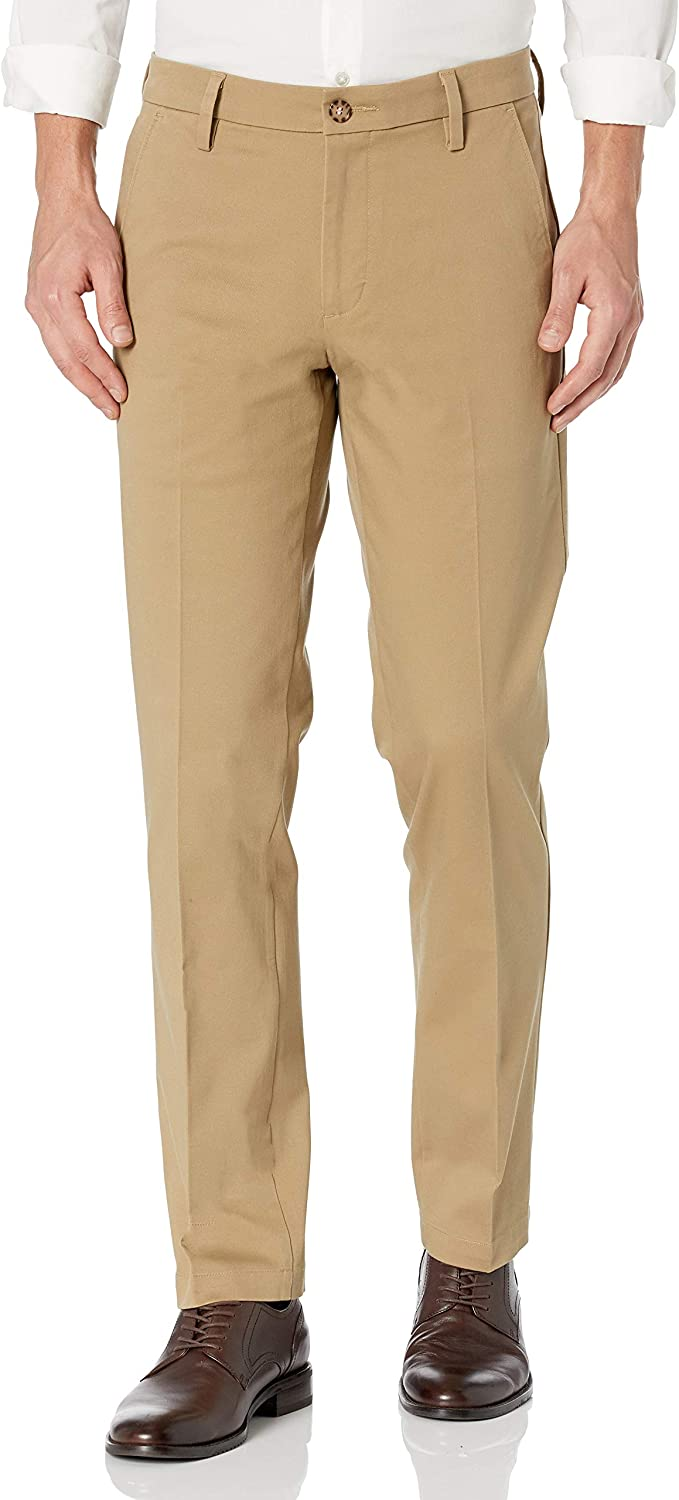 Dockers Men's Straight Fit Workday Pant famous Special price 360 Flex Smart Khaki