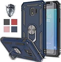 Galaxy J2 Core Case,Galaxy J2 (2019)/J2 Dash/Galaxy J2 Pure Case with HD Screen Protector (2Pack) KaiMai 360 Degree Rotating Ring & Bracket Phone Case for Galaxy J2 Core(5.0