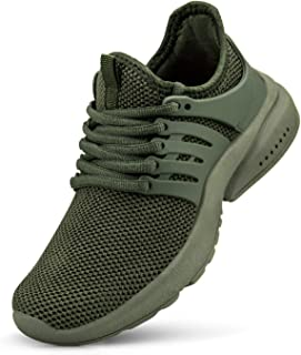 domirica Men's Running Shoes Ultra Lightweight Breathable Gym Sneakers