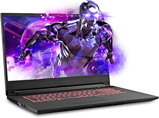 Sager NP7876 17.3 Inches Thin Bezel FHD 144Hz Gaming Laptop, Intel Core i7-9750H, NVIDIA RTX 2060 6GB DDR6, 16GB RAM, 500GB NVMe SSD, Windows 10 Home