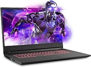 Sager NP7876 17.3 Inches Thin Bezel FHD 144Hz Gaming Laptop, Intel Core i7-9750H, NVIDIA RTX 2060 6GB DDR6, 32GB RAM, 500GB NVMe SSD + 1TB HDD, Windows 10 Home