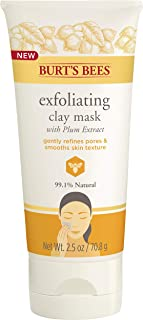 Burt's Bees Exfoliating Clay Mask for Unisex, 2.5 Ounce