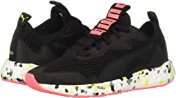 Puma Black/Yellow Alert/Pink Alert