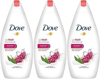 Dove Go Fresh Revive Body Wash, Pomegranate 500 ML (16.9 oz) Pack of 3