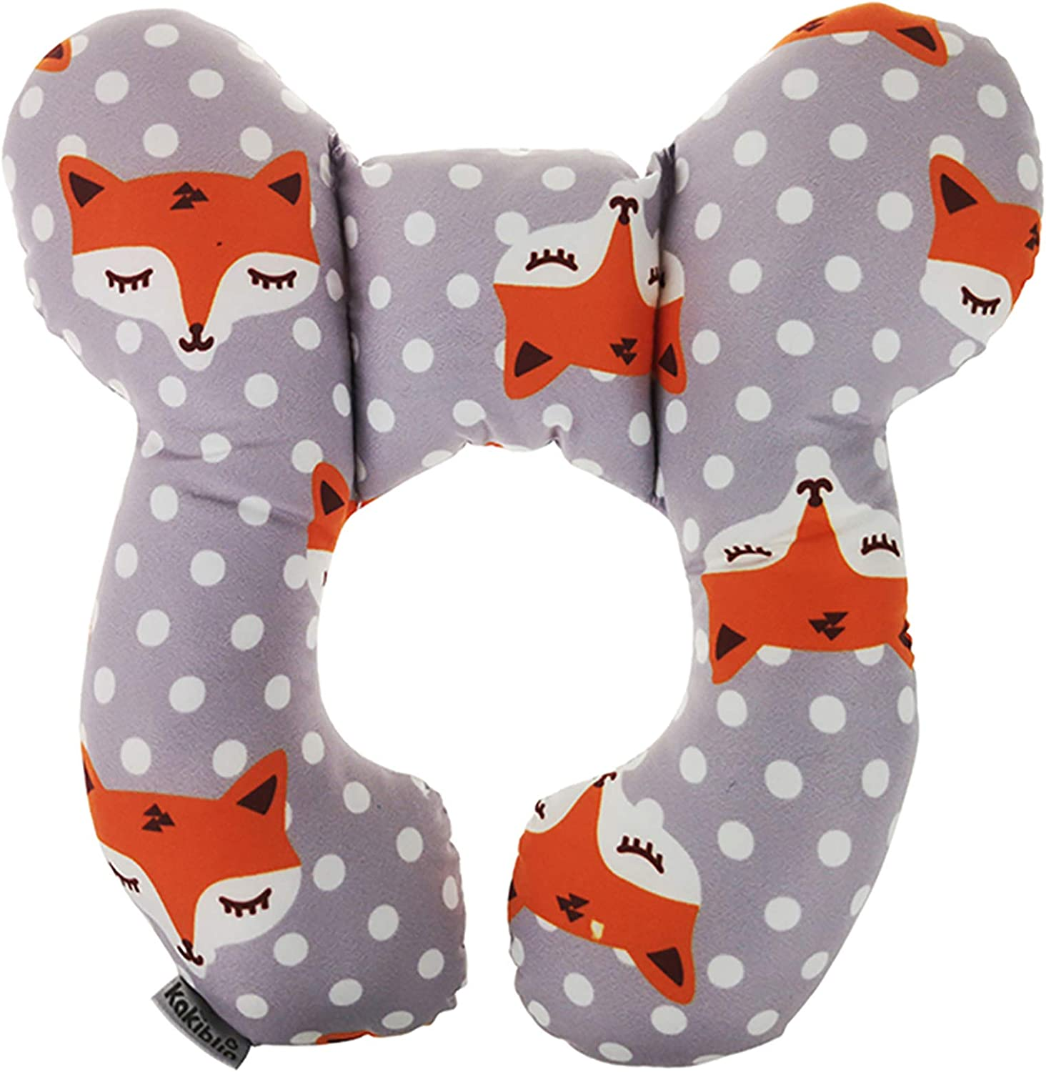 kekafu Baby Travel Pillow, Infant Head and Neck Support Pillow for Car Seat, Pushchair, for 0-1 Years Old Baby