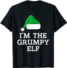 I'm The Grumpy Elf Family Christmas Funny Gift T-Shirt
