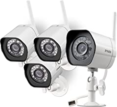 Zmodo Wireless 720p HD Smart Home Security Cameras (4-Pack)