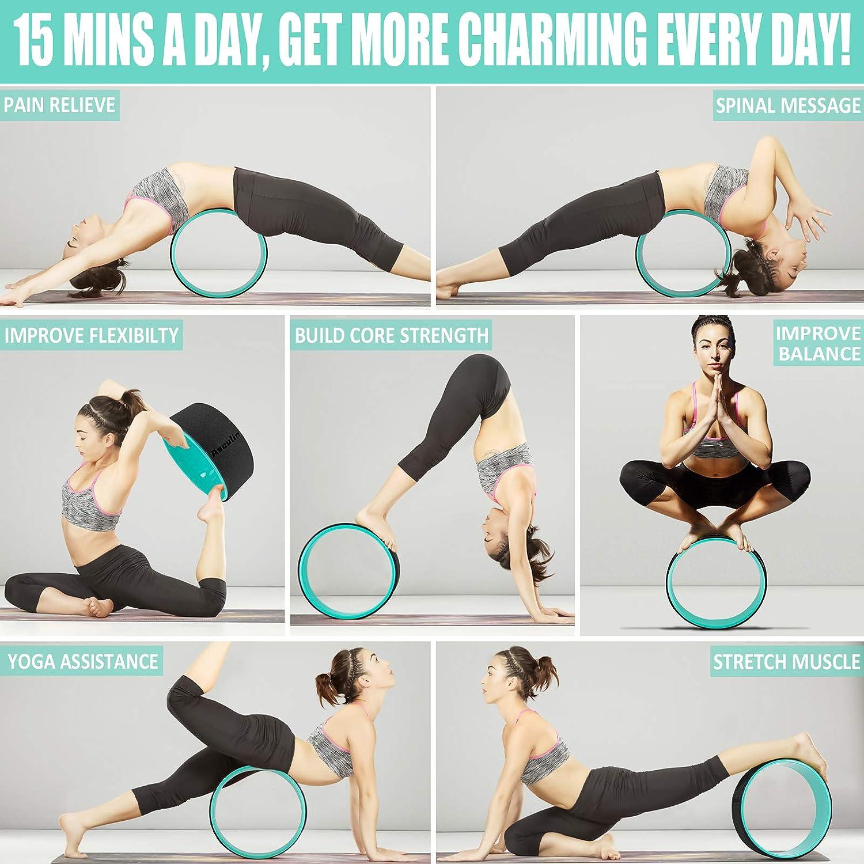 Amazon.com  Yoga Wheel for Back Pain & Stretching, 500.500