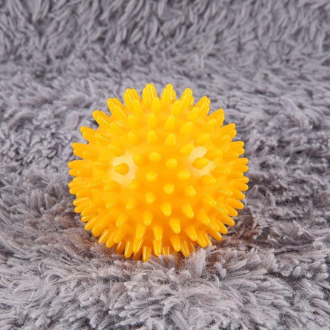 シャンパンプレフィックススピーチPVC High Density Spiky Massage Ball Foot Pain & Plantar Fasciitis Reliever Treatment Hedgehog Ball Massage Acupressure Ball