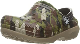 crocs Girl's Classic Lined Graphic Clog K