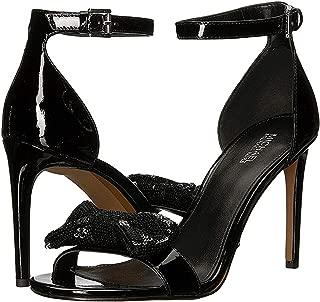 Michael Michael Kors Womens Paris Patent Leather Dressy Heel Sandals