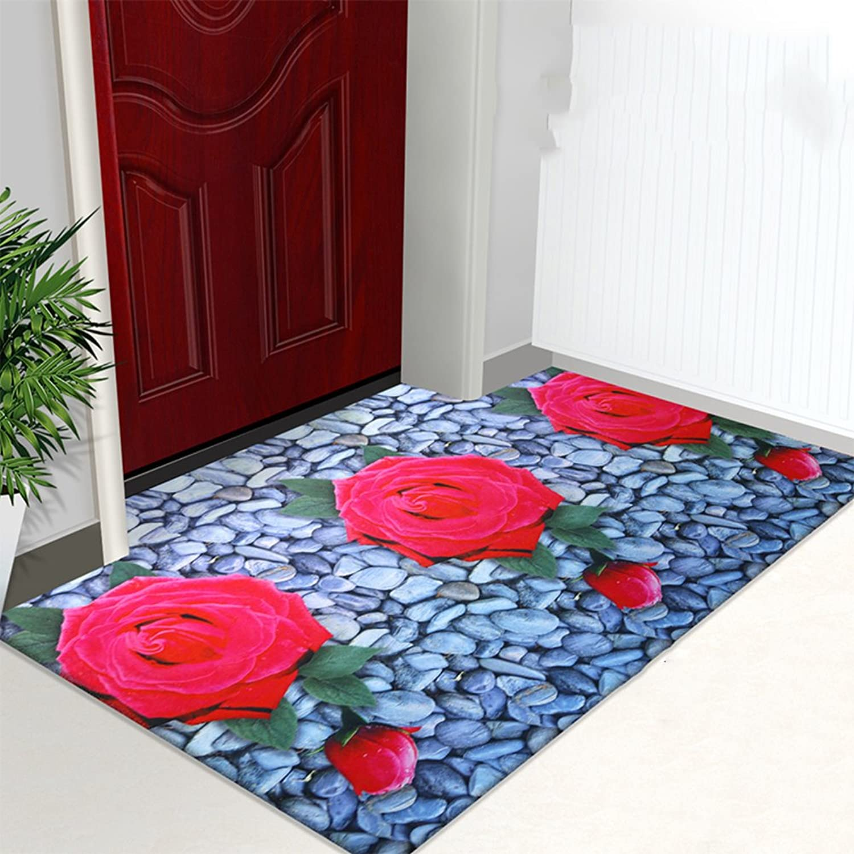 3D color printing door mat Doormat Door mats Doormat Indoor mats Bedroom full of household rectangular mat-A 80x120cm(31x47inch)