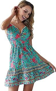 f77c9335e5f7 Amazon.es: Verde - Vestidos / Mujer: Ropa
