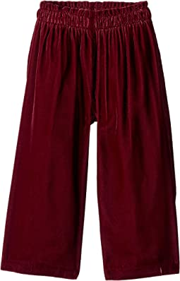 Elastic Wide Leg Pants (Toddler/Little Kids/Big Kids)