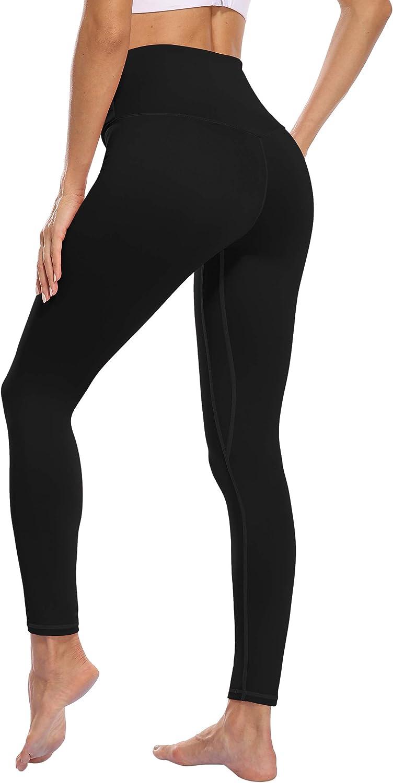 oyioyiyo High Waisted Leggings for Women Tummy Control Yoga Pants Athletic Workout Running Leggings