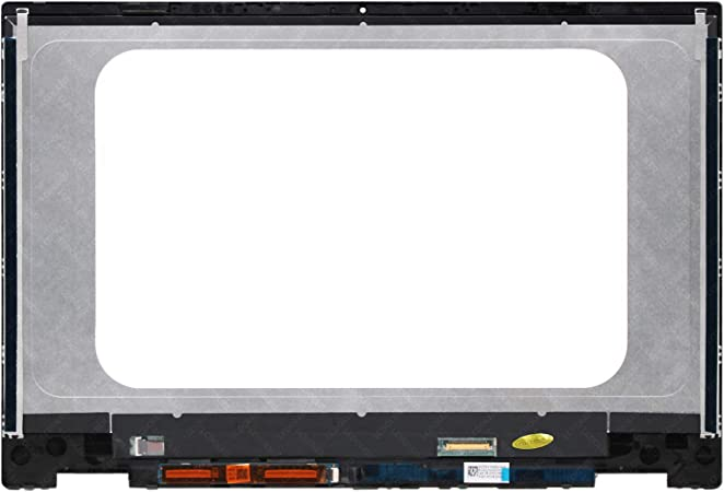 LCDOLED Replacement 14.0 inches FHD 1920x1080 LCD Display Touch Screen Digitizer Assembly Bezel with Board for HP Pavilion x360 14m-dw 14t-dw 14m-dw0xxx 14m-dw0000 14t-dw000 14m-dw0013dx 14m-dw0023dx