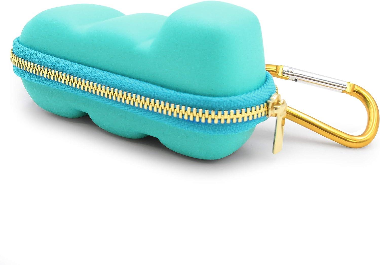 Casematix Turquoise Asthma Inhaler Travel Case, Does Not Include Inhaler Medicine : Health & Household
