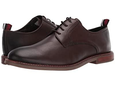 Ben Sherman Birk Plain Toe (Dark Brown Leather) Men