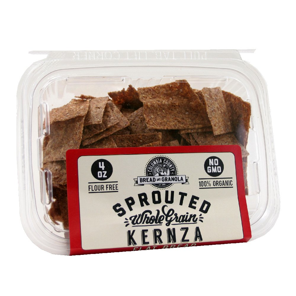 Max 56% OFF Columbia County Ranking TOP1 Bread and Granola Kernza - Sprouted Sin Crisps