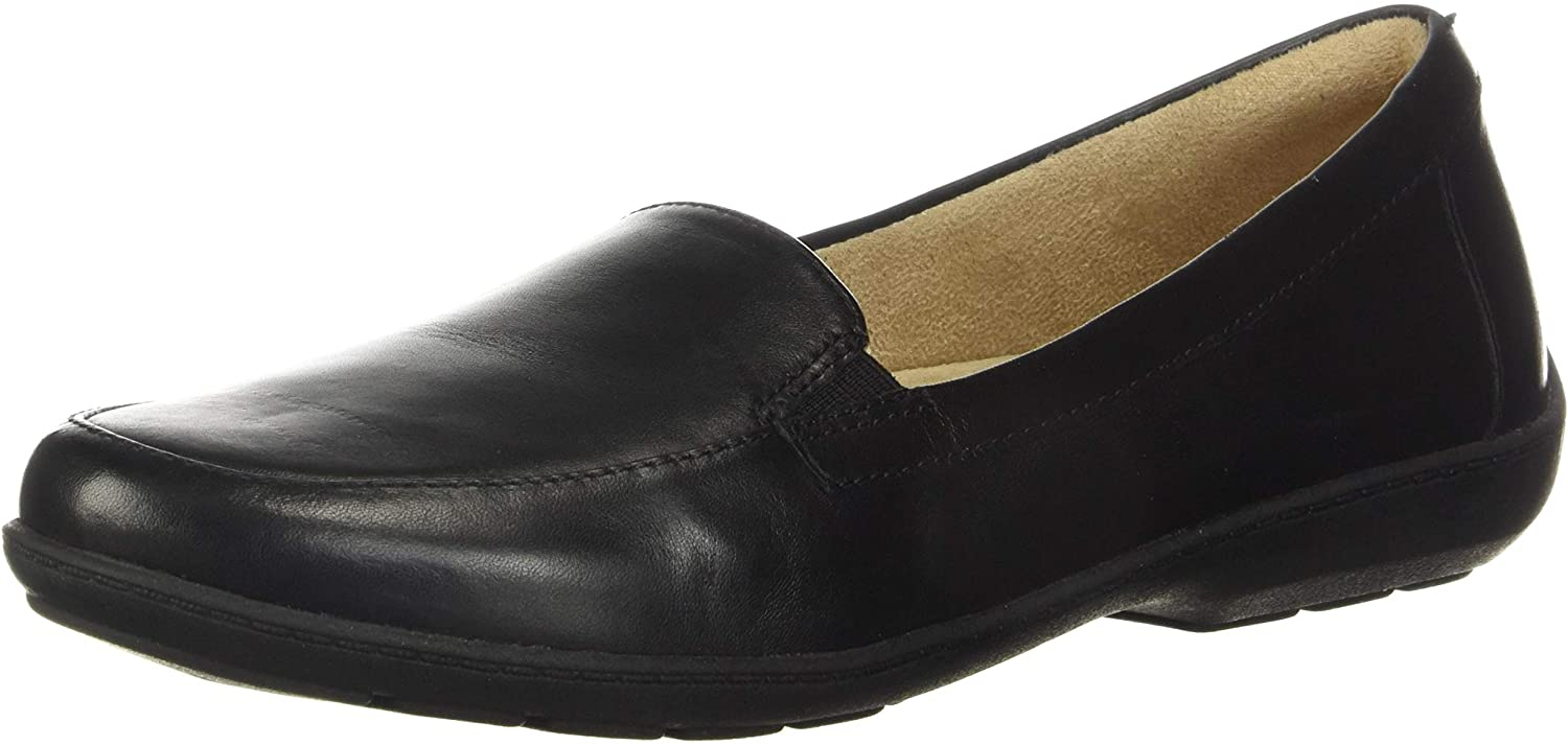 NATURAL SOUL Gifts Women's Kacy Loafer US 8.5 Leather M Black Baltimore Mall