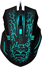 HAVIT 3200DPI Gaming Mouse Wired Optical Mouse with 7 Cycled Breathing Colours LED Lights 4 Adjustable DPI and 6 Buttons (MS672)