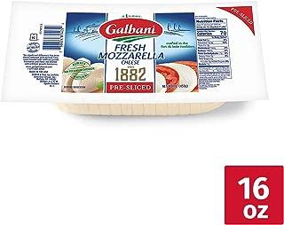 Galbani Fresh Sliced Mozzarella Cheese Log, 16 oz