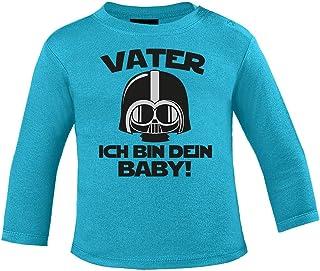 Mikalino Baby Longsleeve Vater - ich Bin Dein Baby!