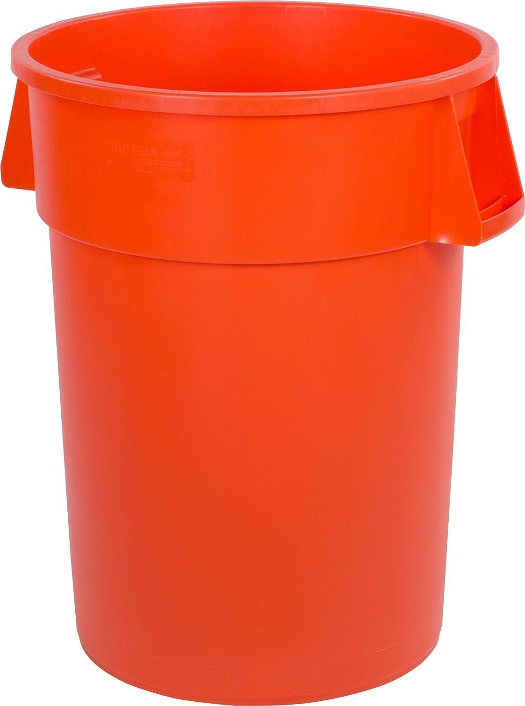 Carlisle 34104424 Bronco Polyethylene Trash 44- Our shop most popular Round Container Under blast sales