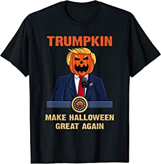 Trumpkin Make Halloween Great Again Funny Trump  T-Shirt
