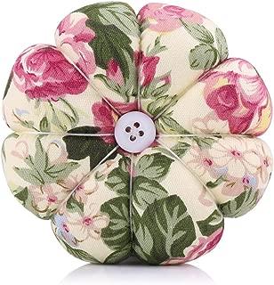 Wrist Pin Cushion,Creative Pumpkin Fabric Sewing Needles Pin Cushion with Elastic Wrist Belt(4)